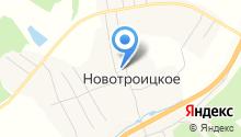 Новотроицкая основная общеобразовательная школа на карте