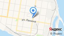 Яна на карте