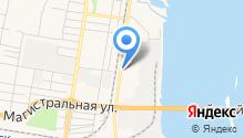 Cheykovskiy на карте