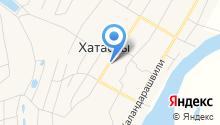 Администрация Хатасского наслега на карте