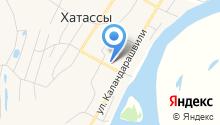 Кэскил на карте