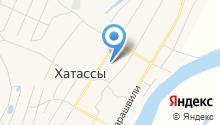 Хатасская средняя общеобразовательная школа им. П.Н. и Н.Е. Самсоновых на карте