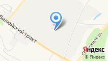 Автогид-сервис на карте