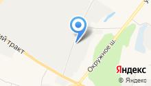 Центр продажи контрактных автозапчастей на карте
