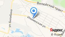 Илья на карте