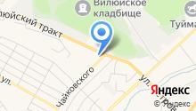Российские автозапчасти на карте