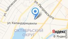 CityRider на карте