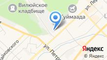 Автоник на карте