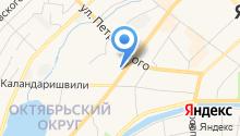 Аварийно-восстановительная служба на карте