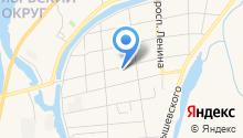 Правый руль на карте