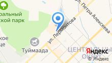 TelMart на карте