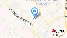 Новиков А.И. на карте