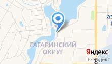 Магазин автозапчастей на ул. Курнатовского на карте