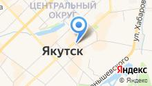 GMT-Якутск на карте