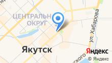 Терминал автоматической покупки транспортных карт, АКБ Алмазэргиэнбанк на карте
