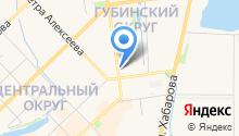Управление ФСБ России по Республике Саха (Якутия) на карте