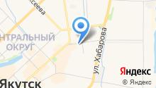 Якутский педагогический колледж им. С.Ф. Гоголева на карте