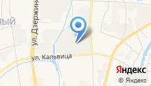 Самурай на карте