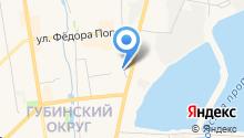 Сахамедстрах на карте