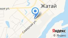 Средняя общеобразовательная школа №1 городского округа Жатай на карте