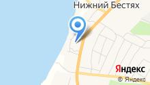 Нижне-Бестяхская участковая больница на карте