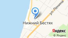 Нижне-Бестяхская средняя общеобразовательная школа №2 с углубленным изучением отдельных предметов на карте