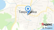 Тавричанский центр культуры и досуга на карте