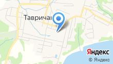 Станция скорой медицинской помощи пос. Тавричанка на карте