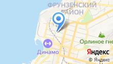 Управление по делам ГО и ЧС г. Владивостока на карте