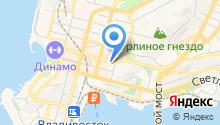 ГКУ Приморского края по пожарной безопасности ГО и ЧС на карте