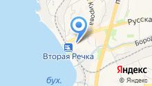 Bus-курьер на карте