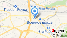 A-Zone на карте