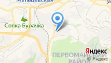 Efremov на карте