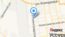 Зверев на карте