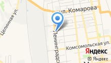 Единая Диспетчерская Грузоперевозок на карте