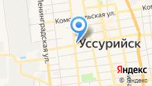 АКБ Приморье, ПАО на карте