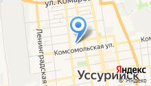 Детский дом г. Уссурийска на карте