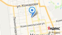 Фифочка на карте