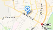 Автонародный на карте