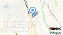 Город салютов на карте