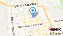 ИСК Уссури на карте
