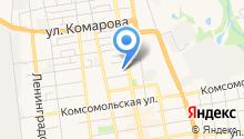 Городская станция переливания крови г. Уссурийска на карте