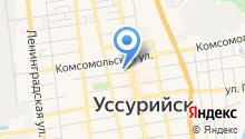 Дальневосточный центр лечебной косметологии на карте