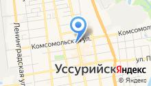 Аэрофлот-Российские авиалинии на карте