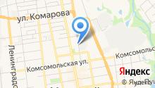 Авторемзавод на карте
