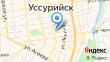 ДЮСШ г. Уссурийска на карте