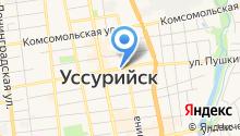 ЗАГС г. Уссурийска на карте