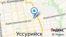 Всестилевая федерация АЙКИДО г. Уссурийска на карте