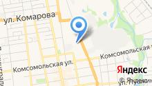 Буфет на карте