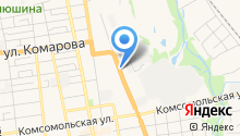 Автомотив на карте